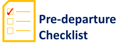 Study Abroad Preparations: Pre-Departure Checklist