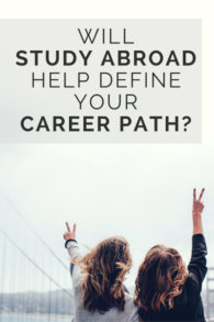 How Study Abroad Helps Your Career?