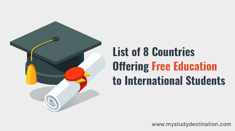 List of 8 Countries Offering Free Education to International Students