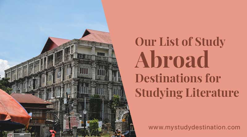 Our List of Study Abroad Destinations for Studying Literature