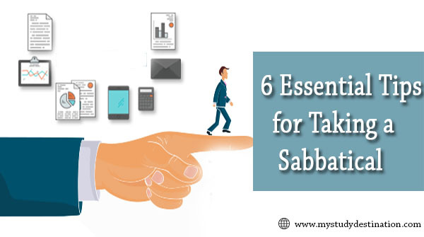 Tips for taking a sabbatical