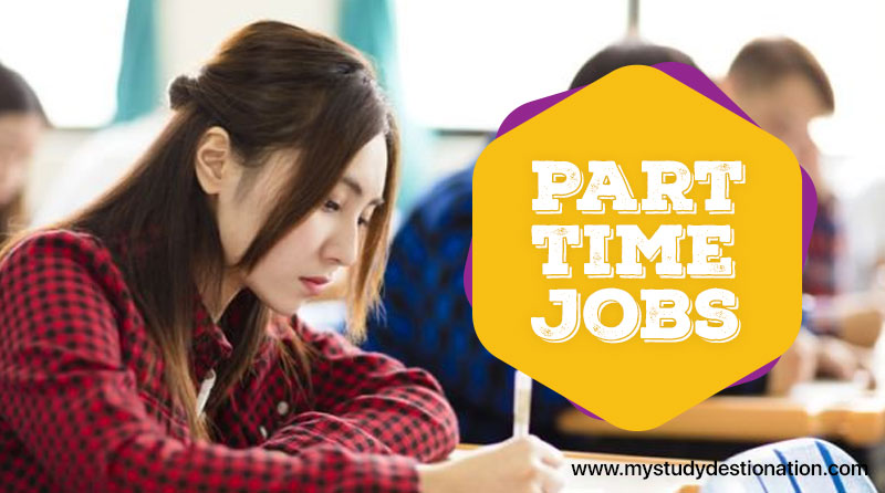 part-time jobs, foreign students