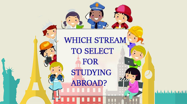 Stream to select for studying abroad