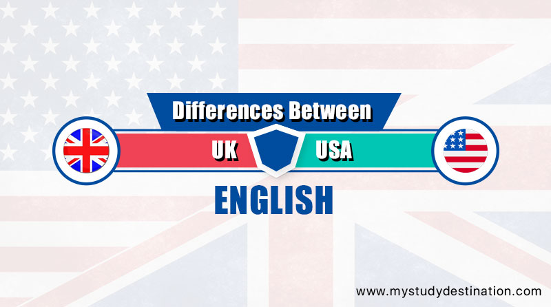 UK and USA English
